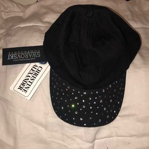 NWT Swarovski Brimmed Hat
